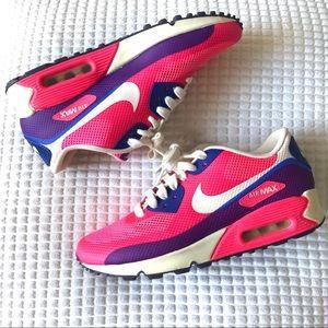 Nike Airmax 90 Fuchsia Purple Women's Shoe